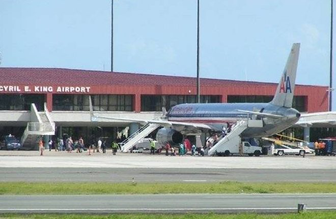Commercial flights resume in St Thomas; progress continues on power restoration, road clearing, debris collection