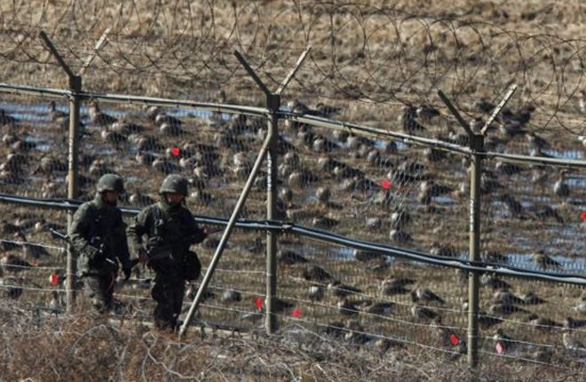 North Korea soldier shot while defecting at DMZ to South