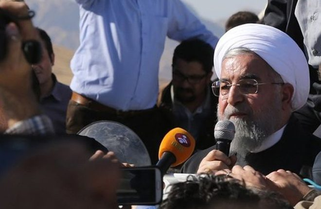 Iran-Iraq earthquake: Rouhani vows action over collapsed buildings