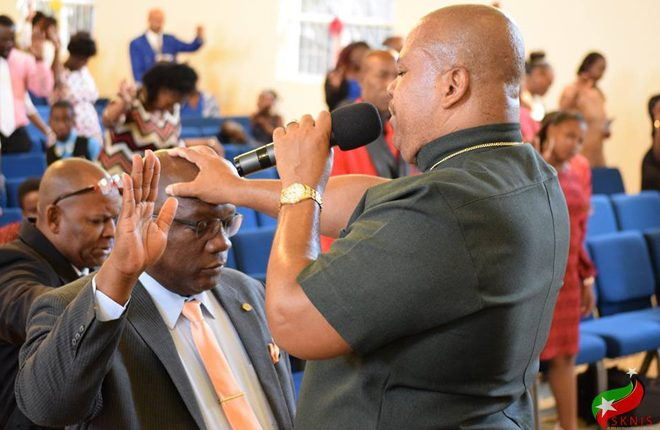 St. Kitts and Nevis has much to gain as a nation under God, says Prime Minister Harris