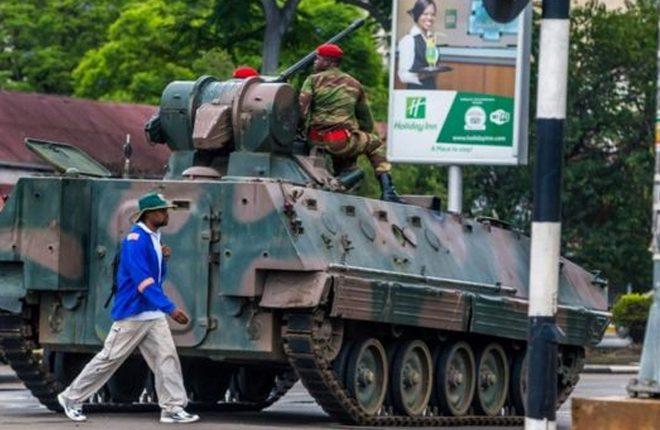 Zimbabwe's Mugabe 'under house arrest' after army takeover