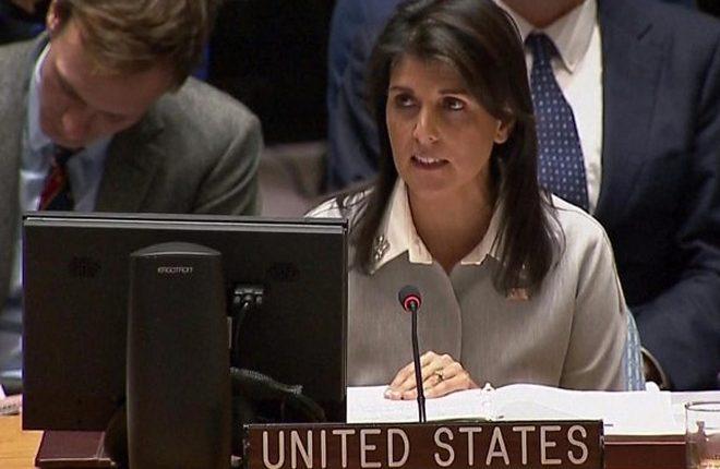 Jerusalem: Trump's envoy Haley berates 'outrageous UN hostility'