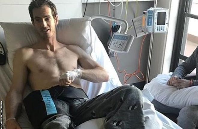 Andy Murray: British number one has surgery on hip injury