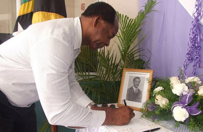 PH Harris expresses condolences to the family of former Crown Counsel and Magistrate Mr. Reginald James