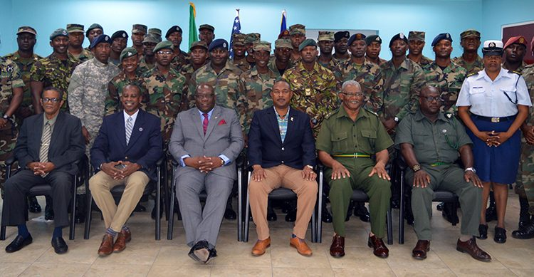 Twenty eight law enforcement personnel successfully complete RSS Section Leaders Course