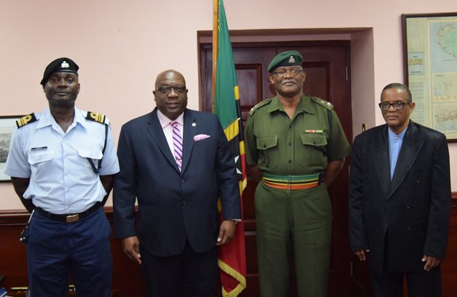 PM Harris announces impending retirement of Lt Col Wallace; Major Comrie set to lead St. Kitts-Nevis Defence Force and Coast Guard