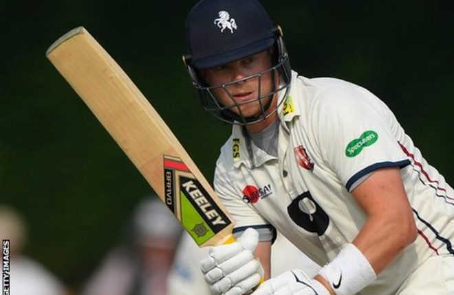 Sam Northeast: Hampshire sign Kent batsman on a four-year contract