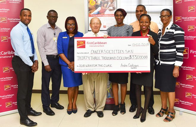 A Time for Us Foundation gets much-needed boost with a donation from regional bank – CIBC FirstCaribbean