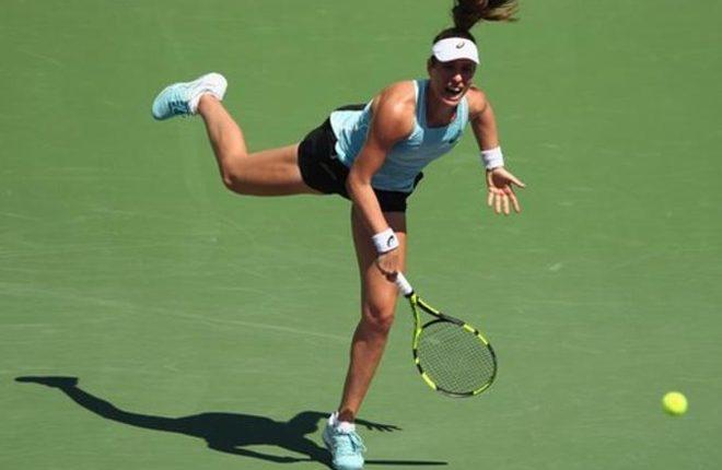 Miami Open: Johanna Konta beats Elise Mertens in third round