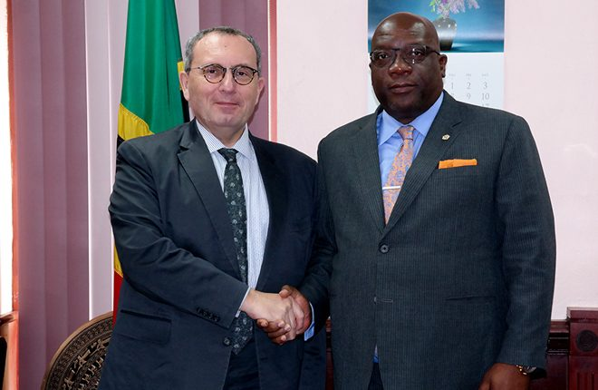 St. Kitts and Nevis Government outlines major areas of concern with European Commission officials