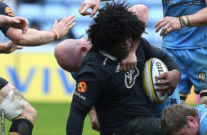 Ashley Johnson: Wasps forward suspended by RFU after failing drugs test
