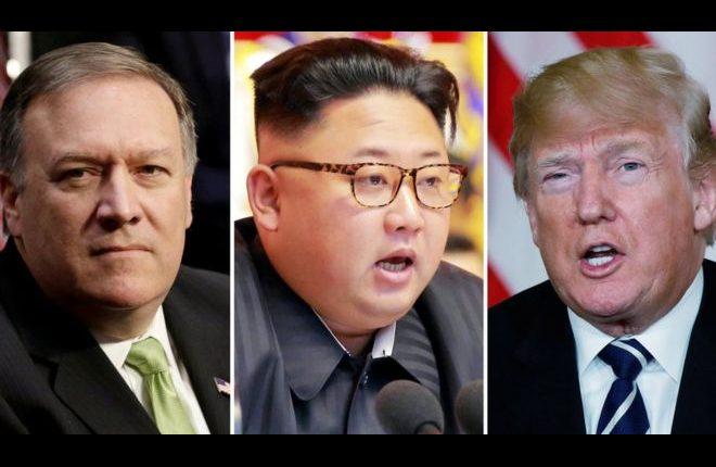 Trump hails CIA chief Mike Pompeo's secret trip to N Korea