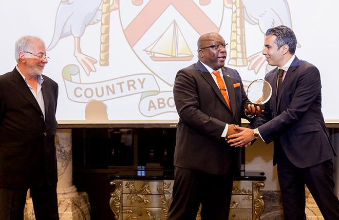 Range Developments recognized for its strong contribution to St. Kitts and Nevis' economic development