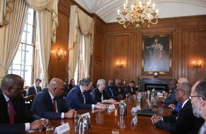 Windrush Generation: British prime minister meets Caribbean leaders