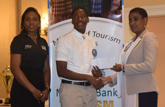 2018 National Bank Tourism Youth Congress breaks monotony of all female participants in several years