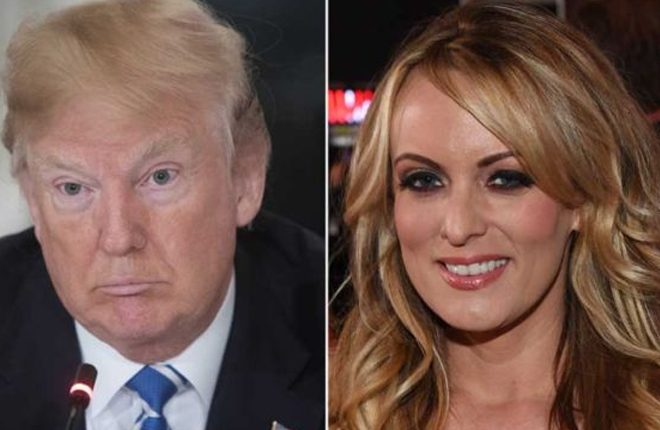 Stormy Daniels case: Trump denies campaign funds paid off porn actor