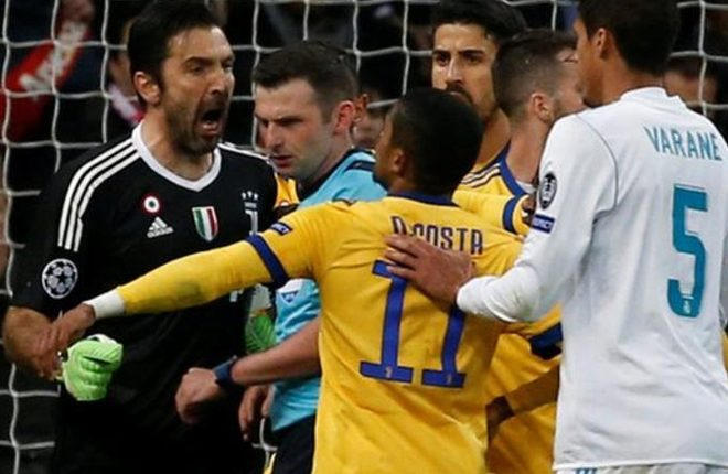 Gianluigi Buffon: Juventus keeper charged over Michael Oliver comments