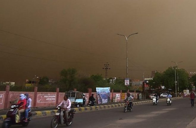 India dust storms: Nearly 100 killed in Uttar Pradesh, Rajasthan