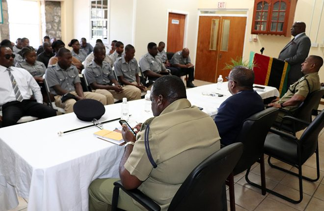 Commissioner of Police praises Prime Minister Harris' support to the police