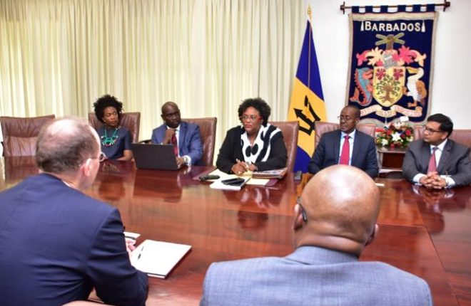 IMF team concludes visit to Barbados