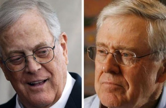 Billionaire Koch brothers take on Trump over tariffs