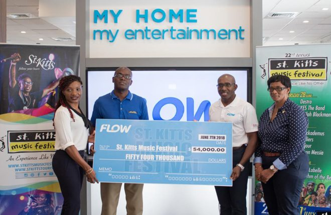 FLOW Partners with the St.Kitts Music Festival