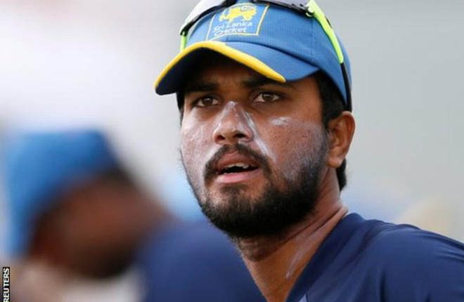 Dinesh Chandimal: Sri Lanka captain banned for two Tests and four ODIs
