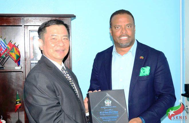 St. Kitts Nevis to bid farewell to Ambassador Chiou