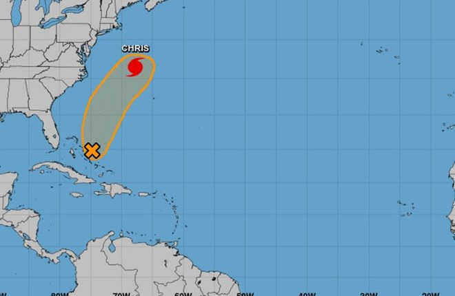 Forecasters Keep Eye on Remnants of Beryl over The Bahamas as Chance Remains it Could Regenerate