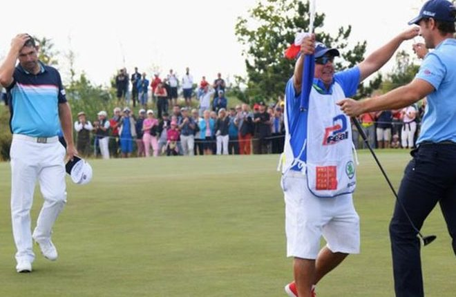 Czech Masters: Padraig Harrington second to first-time winner Andrea Pavan