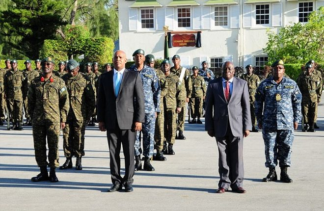 Structure of Barbados' Military to Be Reviewed