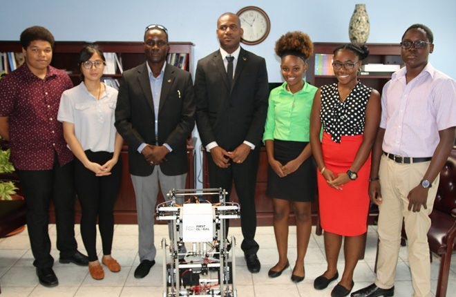 CFBC robotics team to showcase expertise at  Robotics Olympics in Mexico