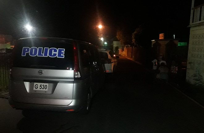 Dead body found in an alley near Maurice Hillier Memorial Junior School