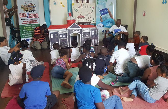 Children Learning More of St. Kitts and Nevis' History Through Storytelling Series