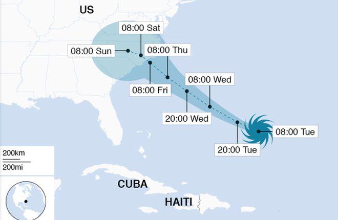 Hurricane Florence: Warnings of life-threatening surge