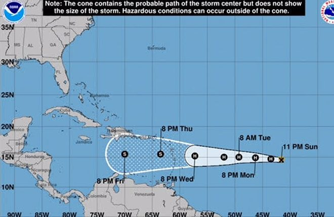 St. Kitts Met Office Monitoring Hurricane Isaac