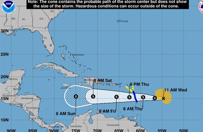 Tropical Storm Watch Still in Effect