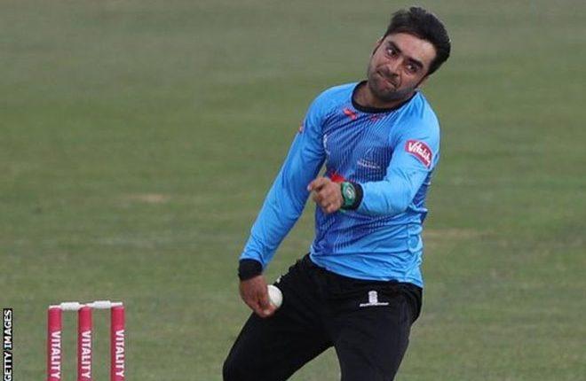 Rashid Khan: Sussex re-sign Afghanistan leg-spinner for part of 2019 T20 Blast
