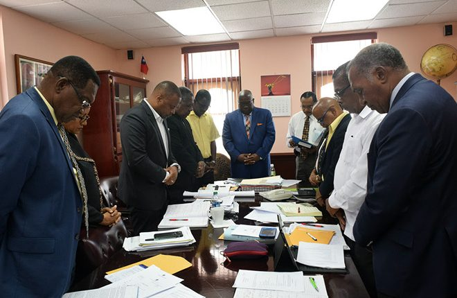 Prime Minister Harris Encourages Nation to National Day of Prayer and Fasting