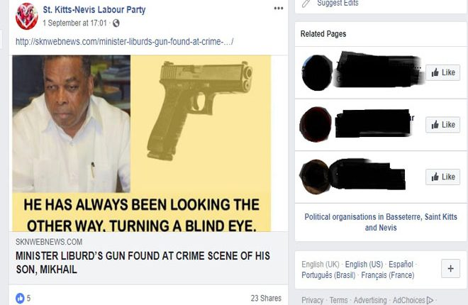 Minister Liburd Slams Opposition Labour Party for Propagating Malicious Information on Social Media