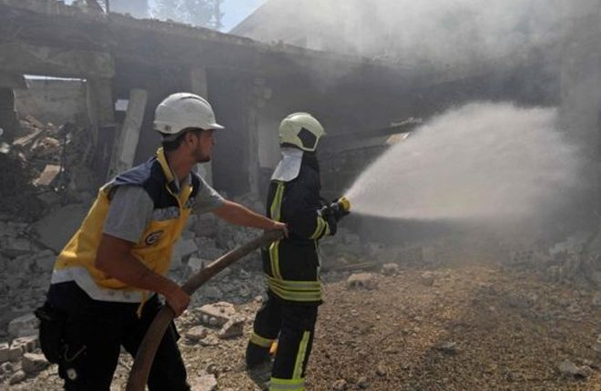 Syria war: Russia 'resumes Idlib air strikes'