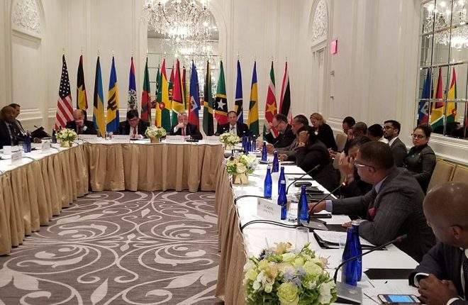 CARICOM Foreign Ministers meet with Deputy Secretary of State H.E. John Sullivan