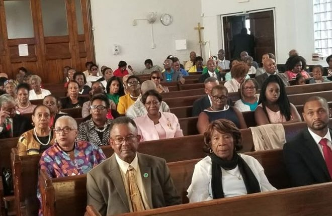 Prime Minister Harris Joins Hundreds for 35th Independence Anniversary Service in New York