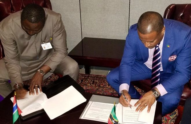 St. Kitts and Nevis and the Gambia Sign Mutual Visa Waiver Agreement