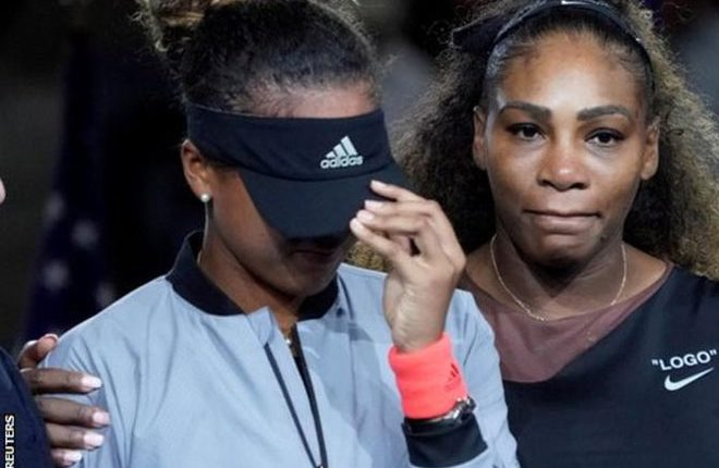 Naomi Osaka: US Open title 'not the happiest moment' after Serena Williams' outbursts