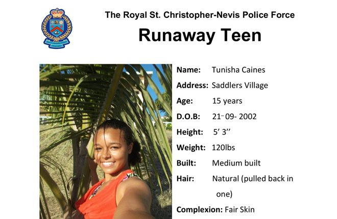 Missing: Tunisha Caines