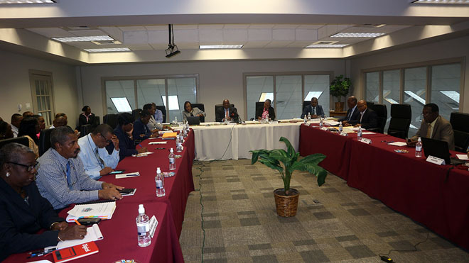 Prime Minister Harris presides over budget Estimates Committee Meetings
