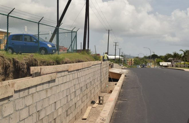 Phase One of Road Rehabilitation Project in St. Kitts Almost Complete