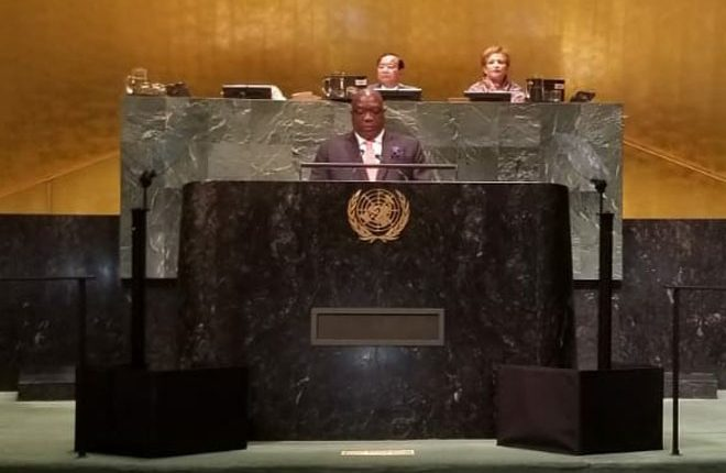 Prime Minister of St. Kitts and Nevis, Dr. The Hon. Timothy Harris, Calls for a More Responsive United Nations