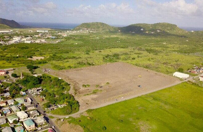 Site for New Basseterre High School (BHS) Cleared